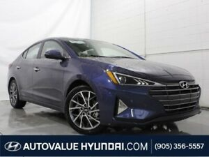 2019 Hyundai Elantra Luxury | HEATED LEATHER SEATS | BACKUP CAME