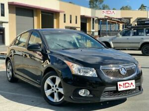 2013 Holden Cruze JH SRi Black 6 Speed Automatic Hatchback Burleigh Heads Gold Coast South Preview