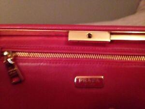 Prada Classic Saffiano Lux Clutch RED Windsor Region Ontario image 4