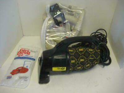 Dirt Devil Royal Hand Vac 500 Series w/Attachments, New Bags ,2 Speed, 25'Cord