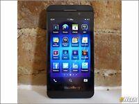Blackberry z10 & bb 9900 touch screen
