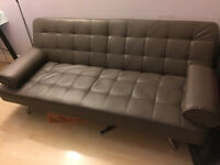 Leather sofa bed for sale
