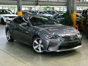 2015 Lexus RC GSC10R RC350 Luxury Coupe 2dr Spts Auto 8sp, 3.5i Grey Sports Automatic Coupe Port Melbourne Port Phillip Preview