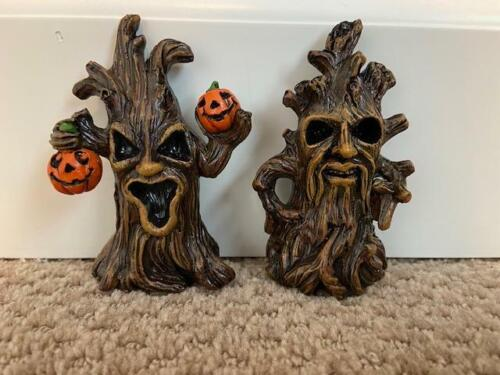"""Halloween Spooky Trees Cute - 4"""" Tall (FREE SHIPPING)"""