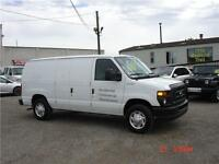 2013 Ford E150 Cargo Van Commercial