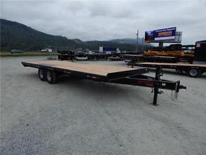 NEW 14,000# 24' HEAVY DUTY EQUIPMENT DECKOVER TRAILER