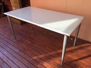 Glass Ikea Dining Table - removable legs Melbourne Region Preview