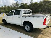 2007 Toyota Hilux TGN16R MY07 Workmate 4x2 White 5 Speed Manual Utility Tugun Gold Coast South Preview