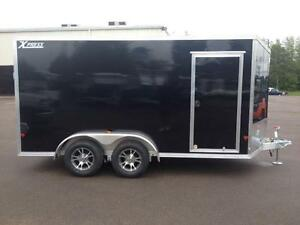 New 2016 Xpress 7' x 14' Aluminum Enclosed Trailer