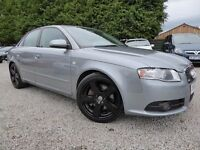 Audi A4 3.0 TDI S Line Quattro ....Rare 3.0 Diesel Quattro Edition....Superb Unmarked Car, Long MOT