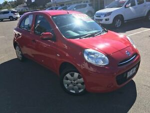 2012 Nissan Micra K13 ST-L Red 5 Speed Manual Hatchback Alexandra Headland Maroochydore Area Preview