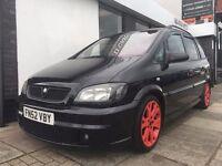Vauxhall Zafira 2.0 i Turbo 16v GSi 5dr PARTS & LABOUR WARRANTY
