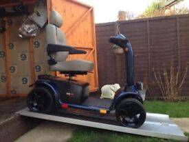 Heavy Duty 8MPH Pride Colt XL8 Mobility Scooter Road Legal Was £2800 Now £390