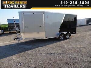ATC 14'+6' Raven Aluminum Enclosed Trailer with Extra Height
