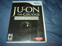 JU-ON THE GRUDGE NINTENDO WII COMPLET RARE