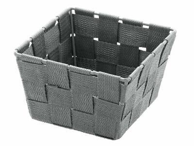 Wenko Aufbewahrungskorb Adria Mini - grau, quadratisch