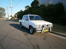 1999 Toyota Hilux RZN149R White 5 Speed Manual Dual Cab Pick-up South Windsor Hawkesbury Area Preview