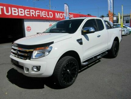 2015 Ford Ranger PX 4x4 XLT White 6 Speed Automatic Extracab Capalaba Brisbane South East Preview