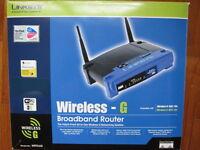 Linksys WRT54G 54Mbps 802.11g Wireless