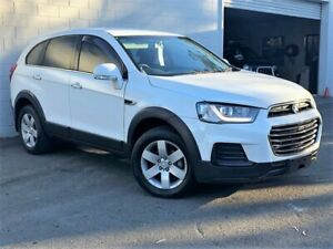 2016 Holden Captiva CG MY16 LS 2WD White 6 Speed Sports Automatic Wagon Ashmore Gold Coast City Preview