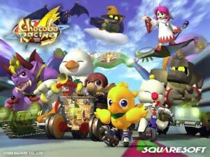 Looking for Chocobo Racing Complete PS1