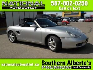 2000 Porsche Boxster Convertible - LOW KLMS, CLEAN CARPROOF