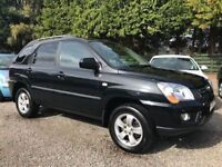 Kia Sportage 2.0 CRDI XE 138, Black, 2010, Excellent Example in Super Condition Throughout