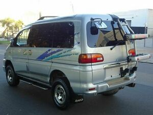 2004 Mitsubishi Delica SPACEGEAR Super Exceed Silver 4 Speed Automatic Wagon Taren Point Sutherland Area Preview