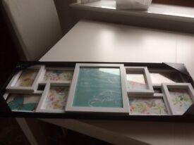 New white multi photo frame, still in packaging.