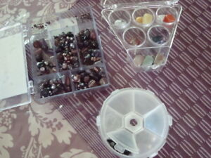 ASSORTMENT OF NEW BEADS AND ACCESSORIES