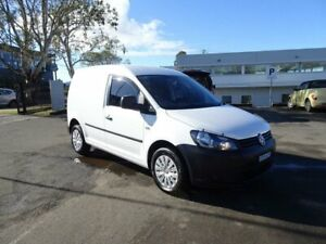 2014 Volkswagen Caddy 2KN MY14 TSI160 SWB Runner Candy White 5 Speed Manual Van Nowra Nowra-Bomaderry Preview