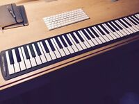USB Roll-up midi keyboard