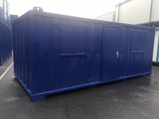 20FT X 10FT STEEL ANTI VANDAL OFFICE / CABIN CHOICE OF 2 AS NEW JACKLEG / SHIPPING CONTAINER