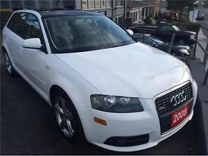 2008 Audi A3-S LINE-CERTIFIED & E TESTED-WE FINANCE EVERYONE