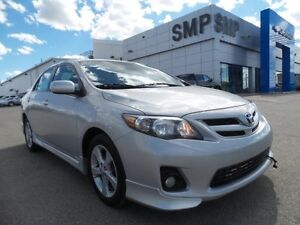 2013 Toyota Corolla S 1.8L 4Cyl - Remote Start, Bluetooth, Bucke