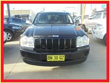2005 Jeep Grand Cherokee WH MY2006 Laredo Black 5 Speed Automatic Wagon Holroyd Parramatta Area Preview