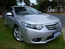 2011 Honda Accord Euro MY12 Luxury Silver 5 Speed Automatic Sedan Willagee Melville Area Preview