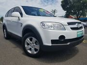 2009 Holden Captiva CG MY09 CX AWD White 5 Speed Sports Automatic Wagon Bungalow Cairns City Preview