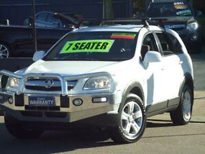 2009 Holden Captiva CG MY09 SX (4x4) White 5 Speed Automatic Wagon Clyde Parramatta Area Preview