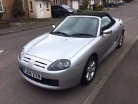 2004 MG TF convertible 12 months mot low mileage 30,000 miles