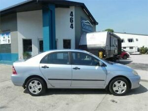 2007 Toyota Corolla ZZE122R MY06 Upgrade Ascent Blue 4 Speed Automatic Sedan Earlville Cairns City Preview