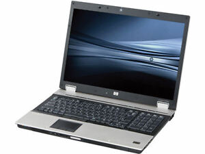 hp Elitebook 8730W 17' laptop(C2D 2.66/4G/FHD/HDMI/Webcam)
