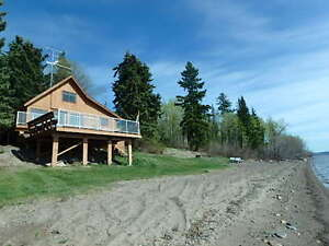 WATERFRONT HOME & GUEST COTTAGE ON FRASER LAKE