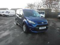 Ford Transit Connect T220 1.6 Tdci 95Ps Trend Van DIESEL MANUAL BLUE (2014)