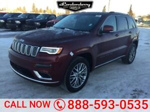 2018 Jeep Grand Cherokee 4X4 SUMMIT V6             Heated and Co