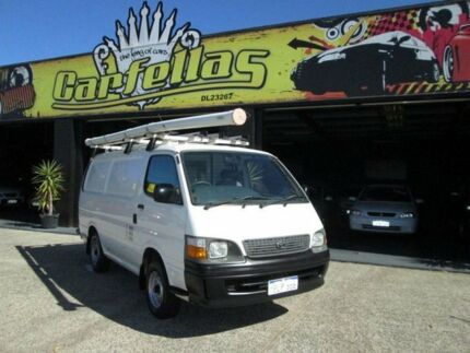 2003 Toyota Hiace RZH White 5 Speed Manual Van O'Connor Fremantle Area Preview