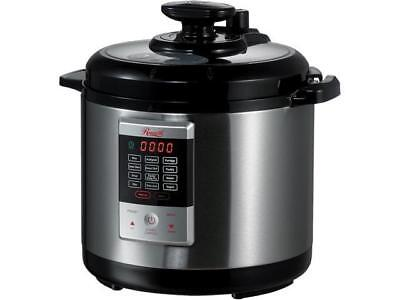 Rosewill 6 Qt. Electric Pressure Cooker, 8-in-1 Programmable Multi Cooker: Slow