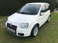2009 Fiat Panda 100HP - Rare in White - 45,750 miles - Climate control - FSH