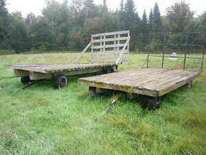 2 hay wagons for sale