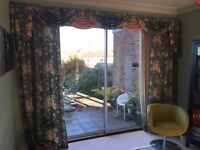 DDESIGNER Super Vintage Floral Curtains Branscombe at crowson fabric